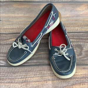 SPERRY plaid boat shoes